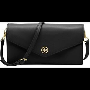 Tory Burch black Robinson concierge crossbody